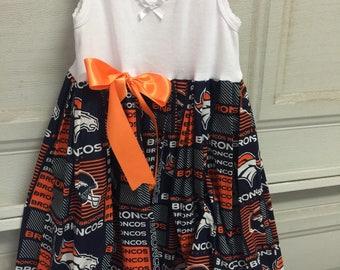 A beautiful Denver Broncos dress