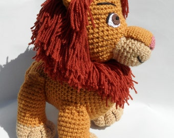 The Lion King Inspired Adult Simba Soft Toy - Large Crochet Lion Plush