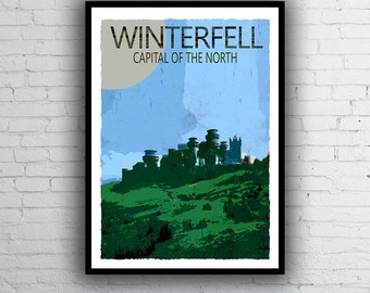 Winterfell Poster (Game of Thrones)