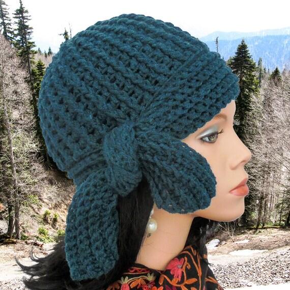 Crochet Cloche Hat Pattern Women Crochet Hat Pattern Crocheted Hat