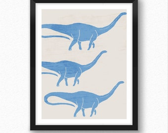 Dinosaur print, dinosaur wall decor, dinosaur for kids, baby dinosaur, art for kids, childrens wall art, dinosaur nursery