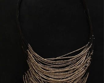 Multistrand beaded necklace by chicos