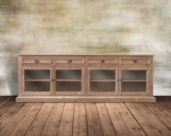 Sideboard, Console Cabinet, Media Console, Reclaimed Wood, TV Stand, Handmade, Rustic