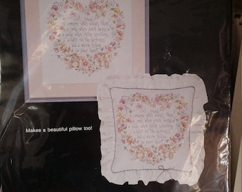 Bucilla stamped cross-stitch 40486 A Friend is... designed by Linda Gillum free shipping