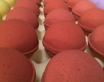 Hermione Bath Bomb - Rose Bath Bomb - Lemon Bath Bomb - Citrus Bath Bomb - Vegan Bath Bomb - Bath Fizzies - Made Fresh - Ready to Ship!