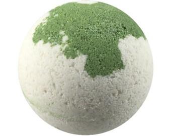 White Gardenia Bath Bomb - Bath Fizzy - Natural - Cocoa Butter - Coconut Oil - Soap Fizzies - Shea Butter