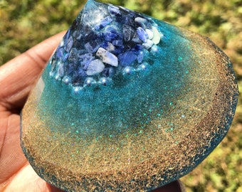 Intuited ORGONE Diamond - Chi - Prana - Positive Energy - EMF Protection - Crystal Therapy - OOAK