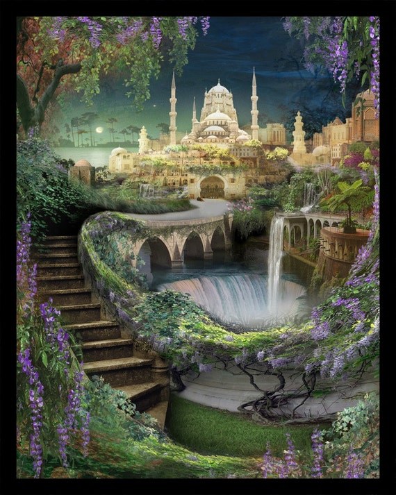 High Quality Lost Lands Of Imagination The Hanging Gardens Of Babylon