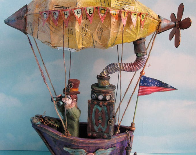 Doll Making Class – Looking For La La Land, Art Doll Project by Susan Barmore (PDF Download) - SE508E