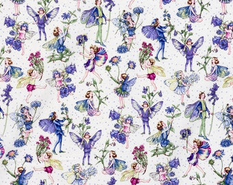 Petite Fairies fabric by Michael Miller. SK155