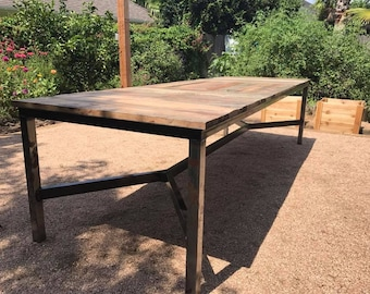Texas Sized Dining Table