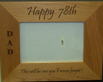 "Picture Frame - fits 4"" x 6"" Photo"