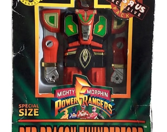 Mighty Morphin Power Rangers Red Dragon Thunderzord Figure Special Size 1994