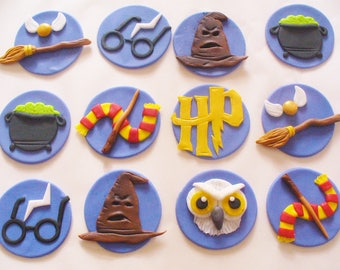 Doc Mcstuffins Tools Inspired Sparkly Fondant Cupcake Toppers