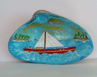 Sailing Boat Art