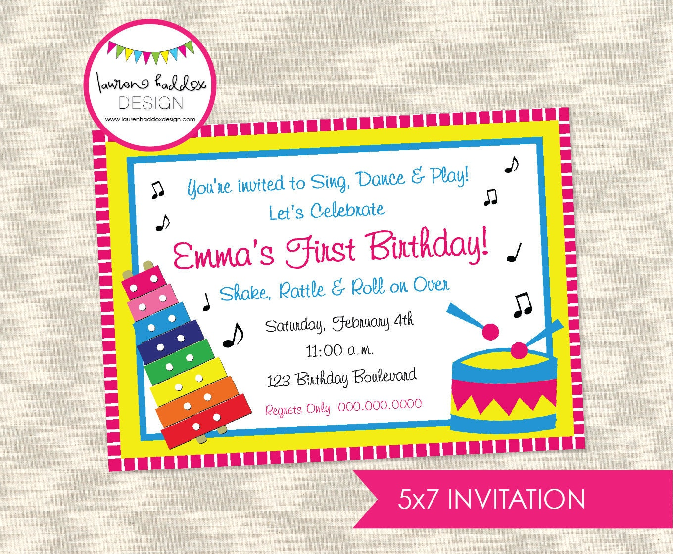 Nice music themed party invitations motif invitation card ideas music themed birthday invitations image collections invitation stopboris Image collections