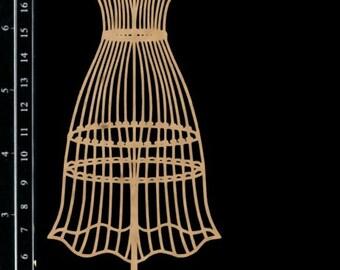 Scrapaholics Chipboard - Dress Form 2