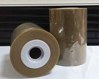 Tulle roll high quality Brown Cafe Latte 15 cm x 82 m tutu