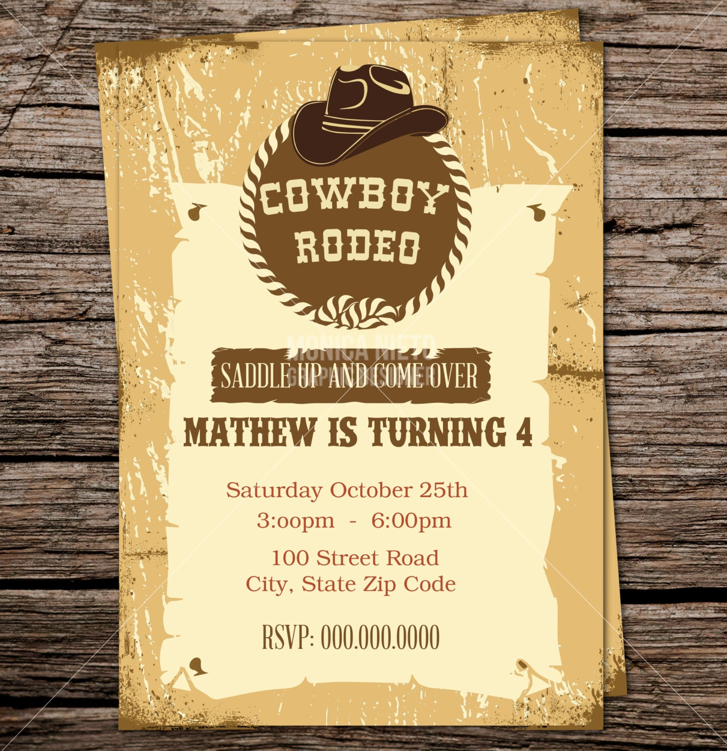 cowboy themed wedding invitations - Picture Ideas References