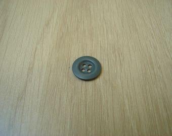 stamped round metal button