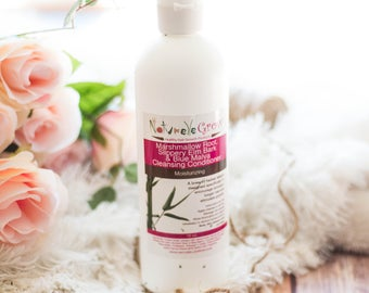 Marshmallow Root, Slippery Elm Hair cleansing conditioner