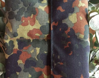 Camouflage Double Pouch for Tattoo Machine