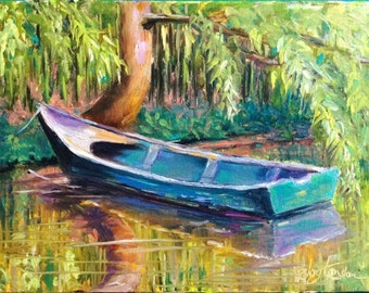 Once loved boat at Monet's Garden