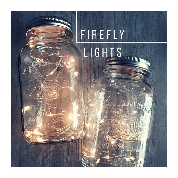Diy Rustic Wedding Centerpieces: Mason Jar Fairy Lights DIY Lanterns Centerpieces Rustic