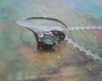 Vintage Sterling Silver Ring/ Stamped 925