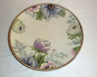 Vintage O. & E. G. Royal Austria Hand Painted Porcelain Plate Signed by the Artist Raymonds
