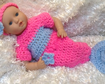 12  Inch Doll Clothes,15 inch Doll clothes, Soft bodied Doll Clothes,Mermaid doll clothes,12 inch mermaid sets,15 inch mermaid sets