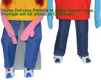 08. Puppet Legs Pattern By Church Puppets