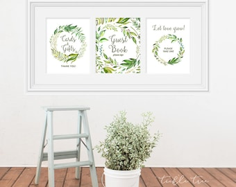 Reception Signs/Various - Breezy Leaf (13701)