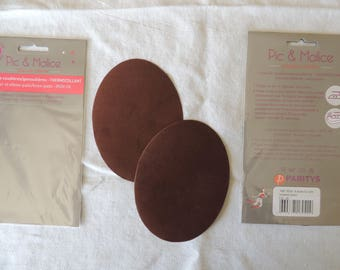 1 pair of elbow / knee melt Brown clothing
