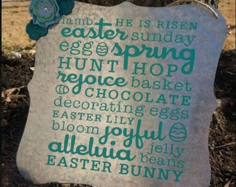 Easter Tin Sign