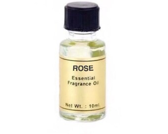 Rose Oil - 10ml, Essential fragrance oil, Scent magick, Candle dressing, Floral aroma, Annointing oil, Aromatherapy, Love magick