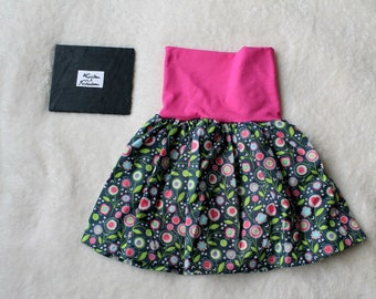 Culotte skirt scalable 6 36months, skirt, pants, skirt scalable, grow with me 6-36months, baby girl