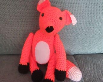Fox crochet or blanket