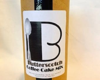 Butterscotch Coffee Cake Mix (Made with Gluten Free Flours)