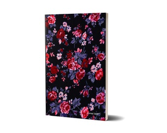 Journal Daily, Floral Centerpiece,  Lined Journal, 47A1530789060