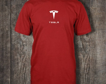 Tesla T-shirt! (Multiple Colour and Style Choices)