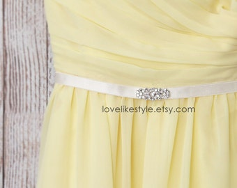 Jeweled Elastic Belt, Rhinestone Belt, Bridal Belt, Bridesmaid Belt, Custom Elastic Belt, Flower Guirl Belt