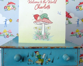 Personalised Little Pixie Card