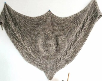 Trophy Shawl Knitting Pattern Only