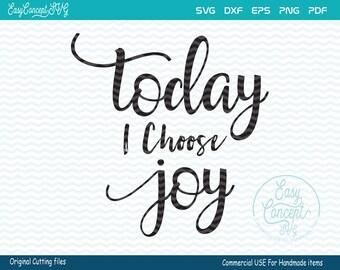 Today I Choose Joy Svg, svg instant download design, Gold arrows, eps, png, pdf Cut File, svg file,