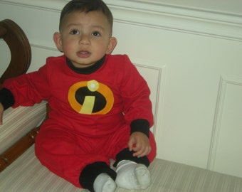 Baby /toddler jumper inspired by Jack Jack the incredible Halloween/birthday costume