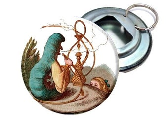 Alice In Wonderland Caterpillar Bottle Opener
