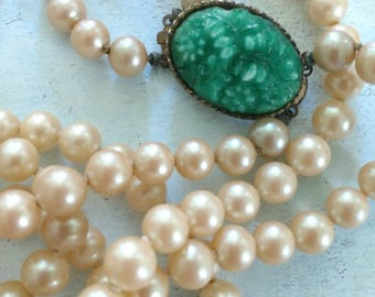 Vintage jewelry - Statement jewelry -  Veronese Collection necklace