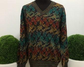 Missoni Men's Sweater Sweater pull pullover sueter TG. 48