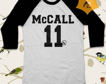 Scott McCall Shirt Scott McCall Tshirt Teen Wolf Shirt Mccall Shirt 3/4 Teen Wolf Shirt Raglan TEENWOLF D1